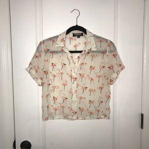 Boyfriend button up shirt